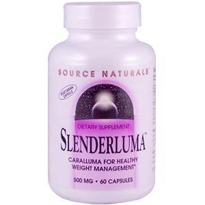 Source Naturals, Slenderluma Caralluma , 500 mg, 60 Capsules