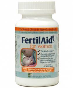 FertilAid for Women by Fairhaven Health (90 capsules/1 month supply)