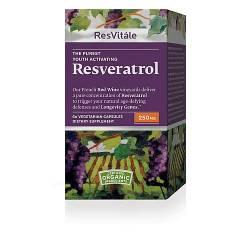 ResVitále™ Resveratrol (250 mg)60 Vegetarian Capsules