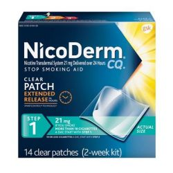 NicoDerm CQ Patch, Step 1 - 14ct