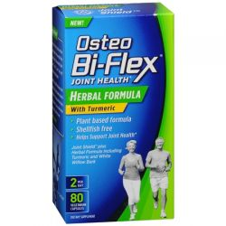 Osteo Bi-Flex Joint Health Herbal Formula with Turmeric, 80 Vegetarian Capsules